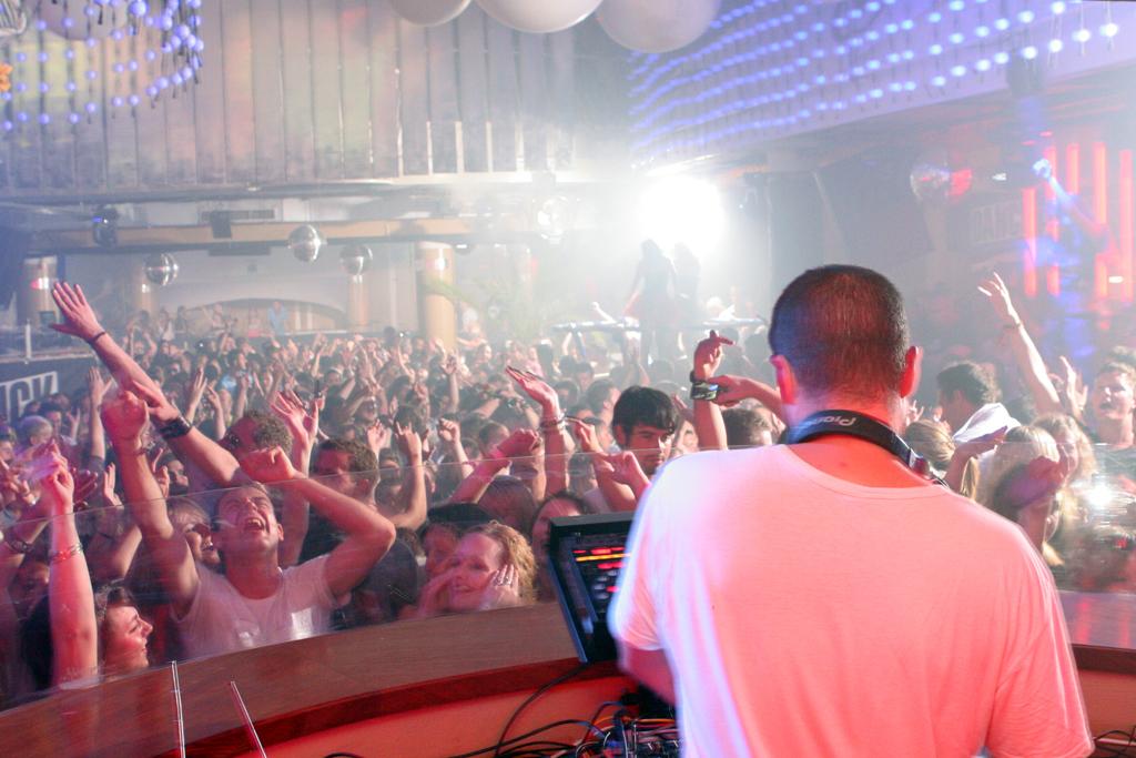 Clubbing in Ibiza