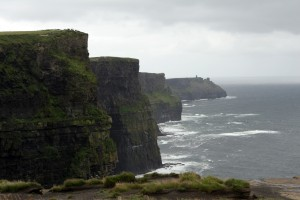 The cliffs of Mohr on the Southern coast of Ireland