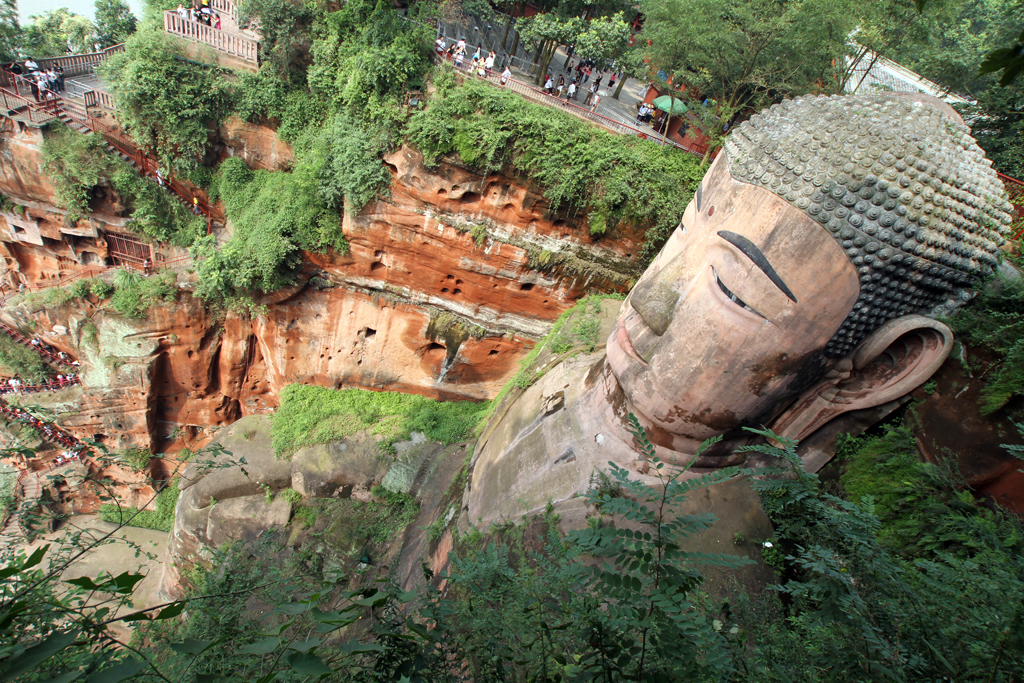 The Giant Buddha in Leshan