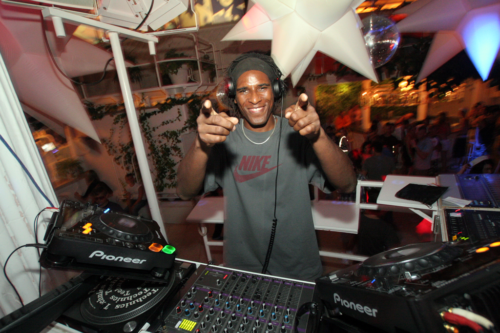 "DJ MDK is the resident DJ for Es Paradis, a club famous for its ""Fiesta del Agua"" party, where the dance floor effectively becomes a pool at around 4am."