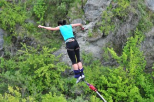 Bungee Jumping in Queenstown
