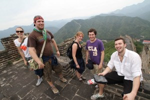 Flashpackers on the Great Wall