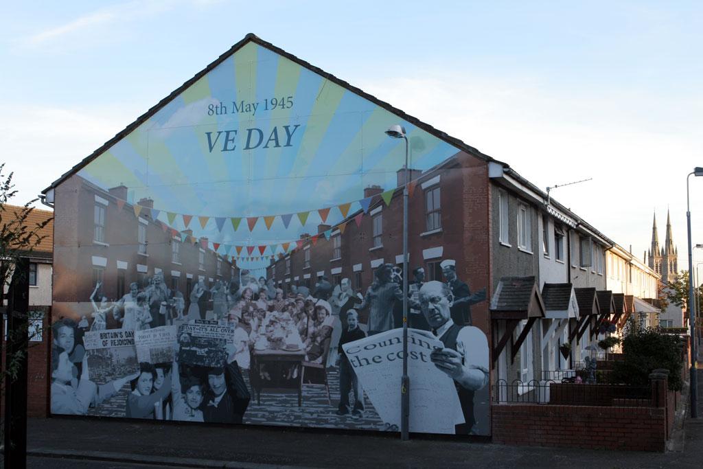 VE day Mural