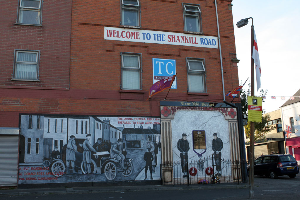 Shankill Road Mural