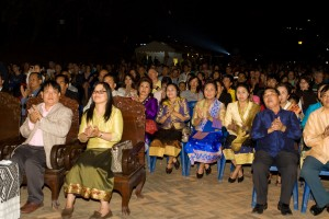 The audience for the festival was a mix of locals from the area, officials from all over Laos, backpackers moving through and tourists on holiday.