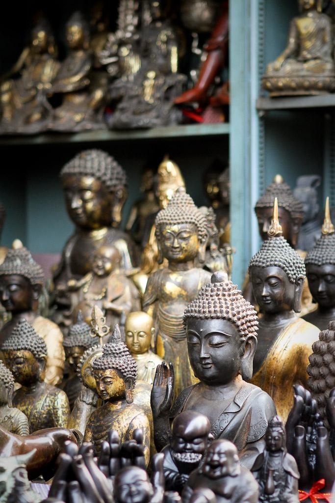 Statuettes of Buddha