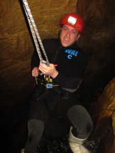Caving in the Waitomo Caves