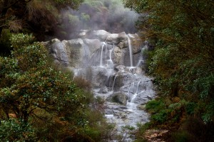 The largest warm water waterfall in the southern hemisphere.