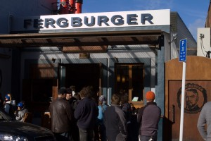 Fergburger in Queenstown serves up some amazing burgers and munchies.