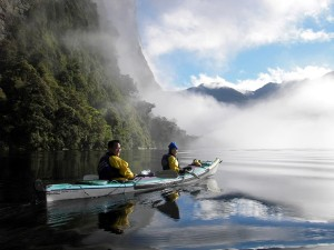 Kayaking at Milford Sound - Image provided by Real Journeys