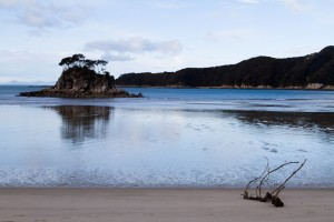 Quiet Beach at Abel Tasmin