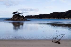 Quiet Beach at Abel Tasmin
