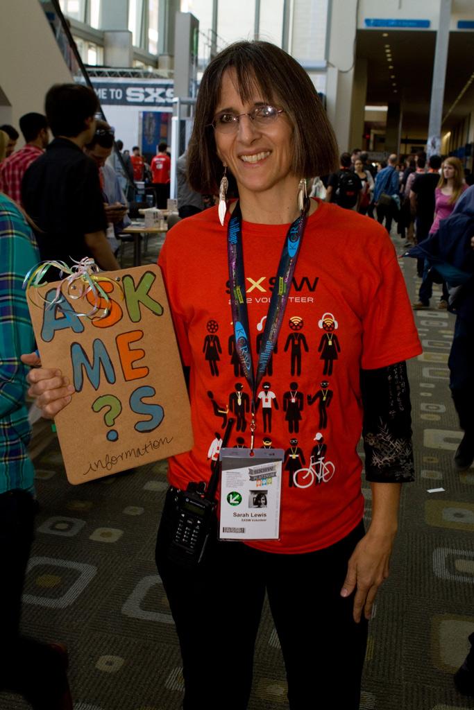 SXSW Volunteer