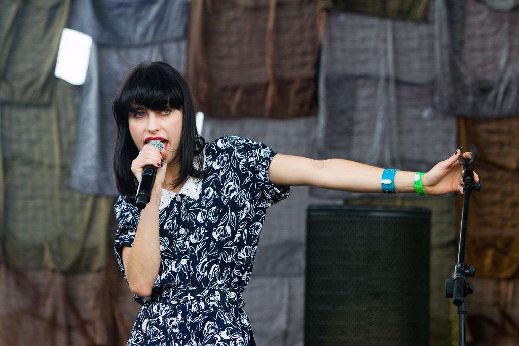 Kimbra at MTV hosted event