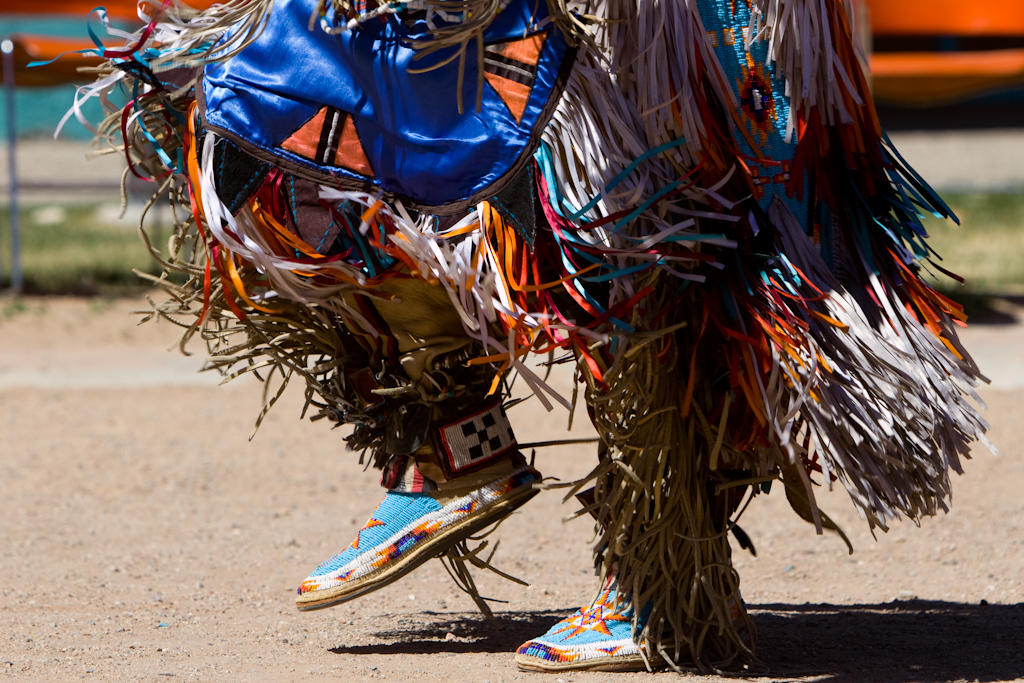 Native American Dancing Feet