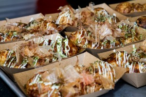 Quite possibly my favorite street food, Takoyaki is tasty.