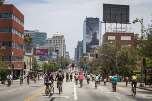 The CicLaVia event is a golden opportunity to experience Los Angeles in a unique way.
