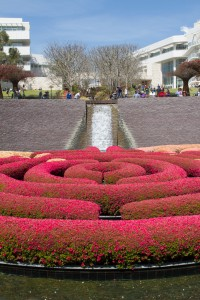 The gardens at the Getty Center in Los Angeles are a great place to wander or relax with a book.