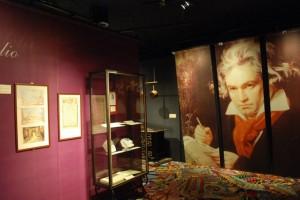 An interactive exhibit at the Haus der Musik.