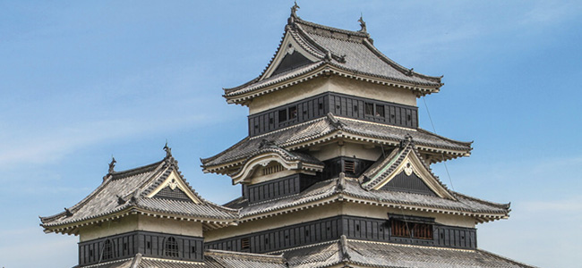Listed as a national treasure of Japan, Matsumoto Castle is and has the original wooden interiors and stonework. Stunning inside and out.