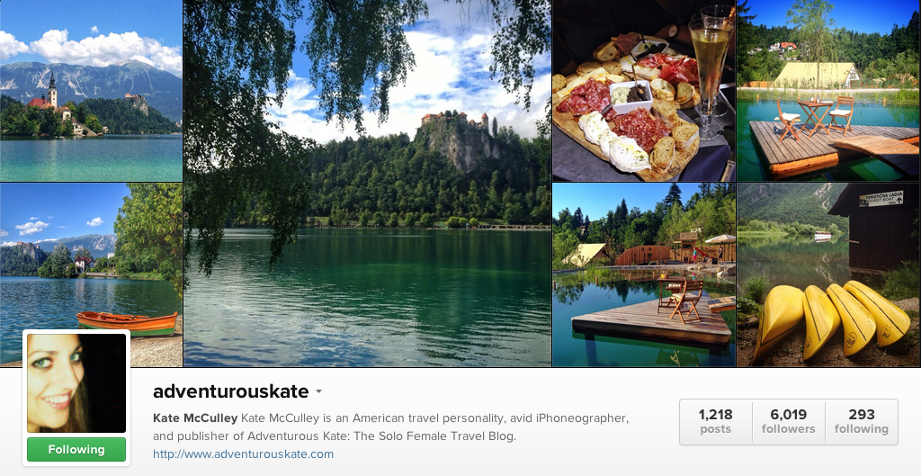 Adventurous Kate on Instagram - Travel Photographers on Instagram