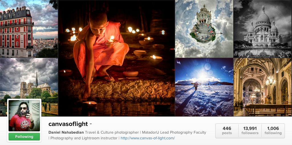 Canvas of Light on Instagram - Travel Photographers on Instagram