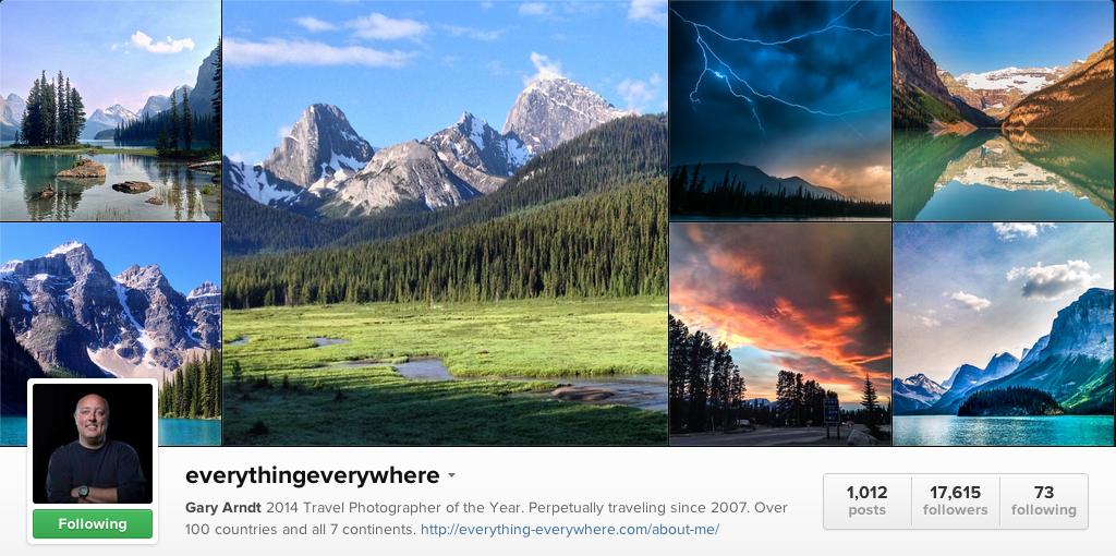 Everything Everywhere on Instagram - Travel Photographers on Instagram