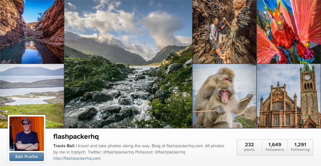Flashpacker HQ on Instagram - Travel Photographers on Instagram