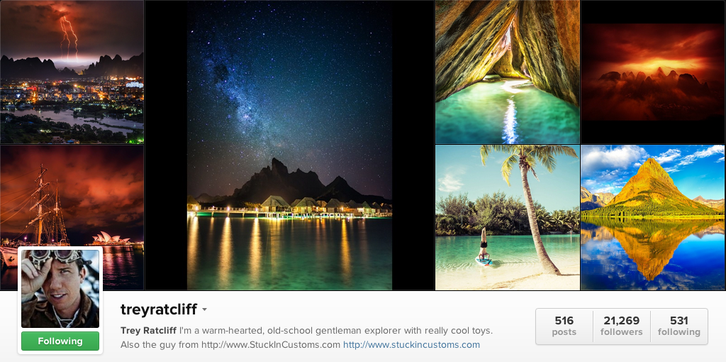 Trey Ratcliff on Instagram - Travel Photographers on Instagram