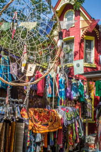 Hippie Shopping in Kensington Market