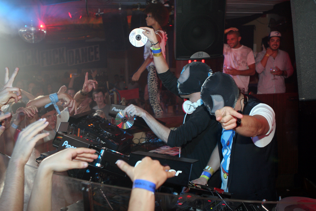 The energy in the room when the Bloody Beetroots were playing was at one of the highest levels I witnessed all summer.