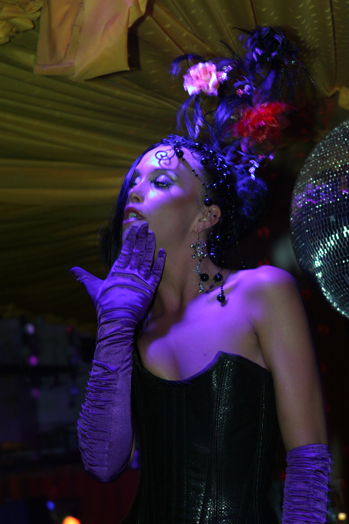 The Dancers at Pete Tong's Wonderland had elaborate fantasy costumes.