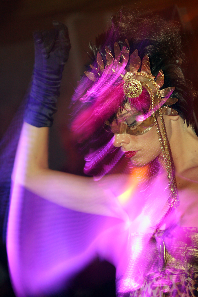 A dancer at Eden