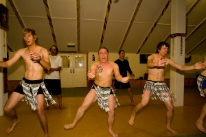 Performing the Haka