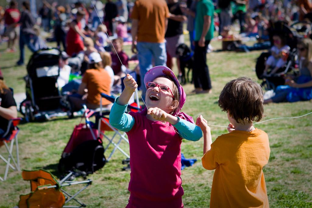 Kids love kites