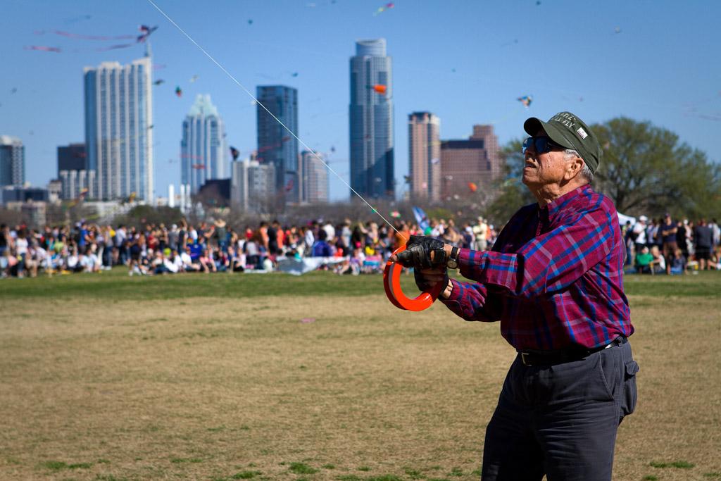 Old kite enthusiast