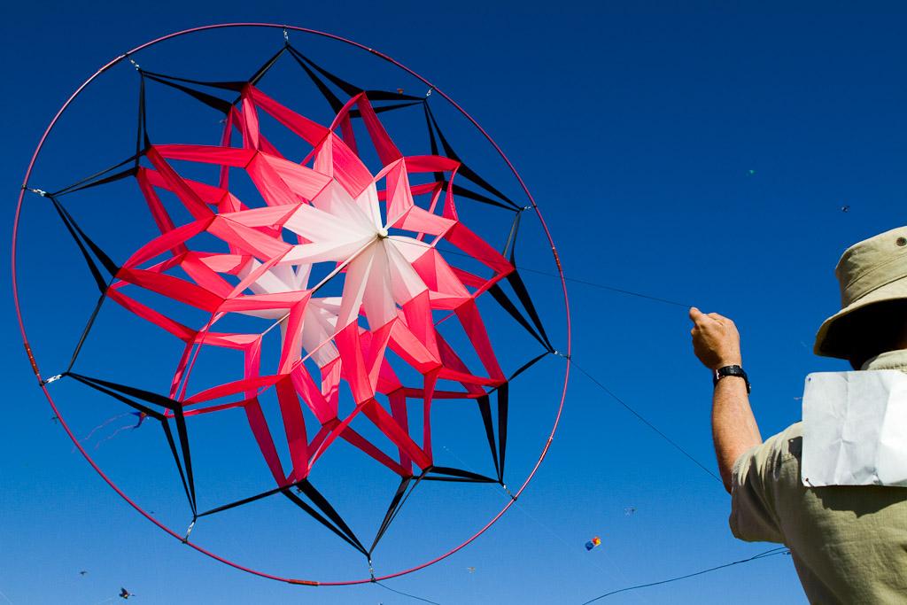 Colorful, Unusual kite