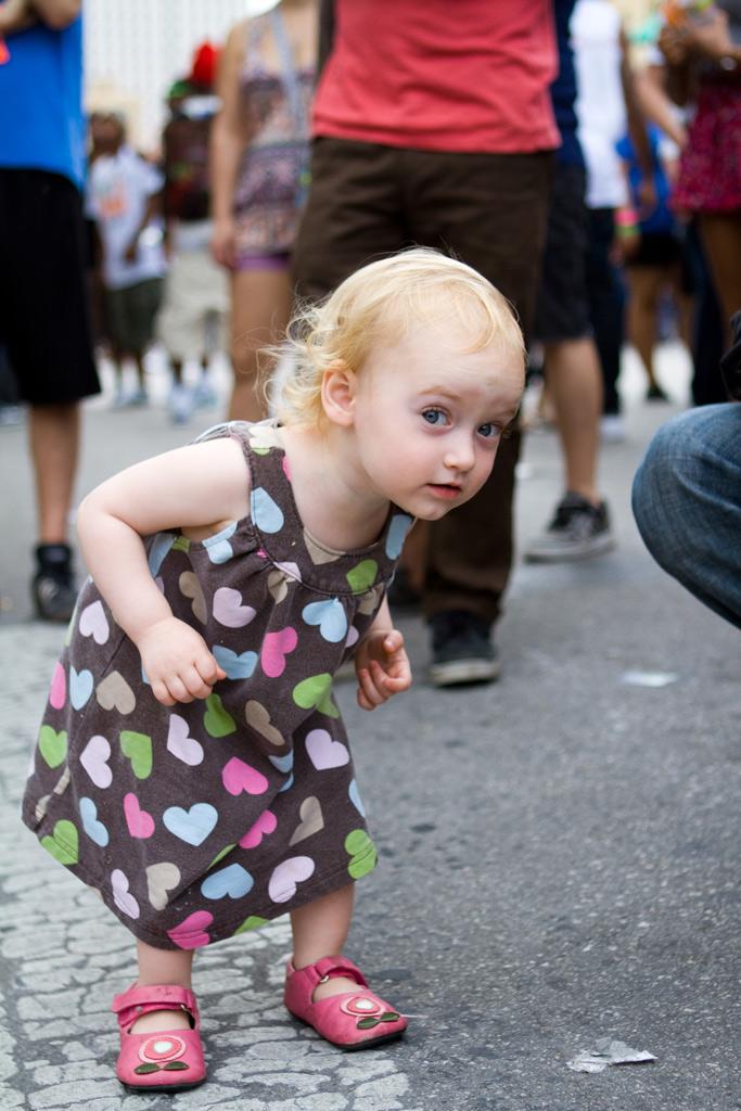 Dancing Girl on 6th Street