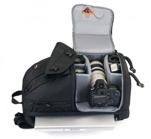 The Lowepro Fastpack 350