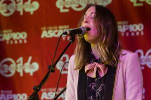 The band Clara-nova performs at the Sundance Cafe sponsored by ascap.com.