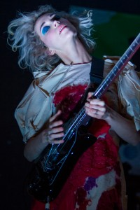 St Vincent rocks the house at Stubbs in Austin during the 2014 South by Southwest music conference.