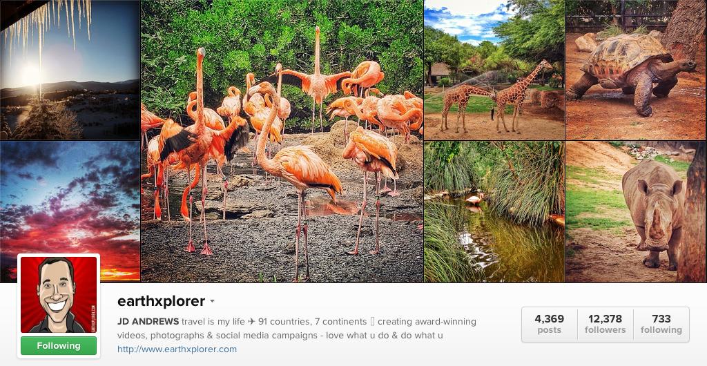 Earth Explorer on Instagram - Travel Photographers on Instagram