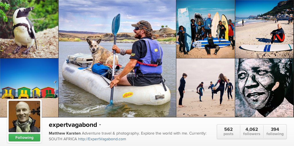 Expert Vagabond on Instagram - Travel Photographers on Instagram