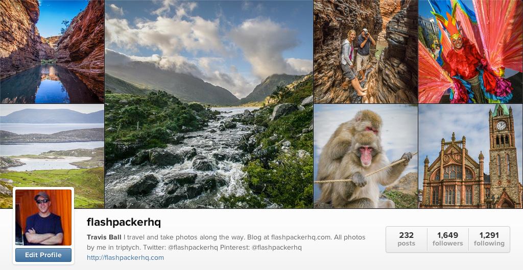 Flashpacker HQ on Instagram - Travel Photographers on Instagram
