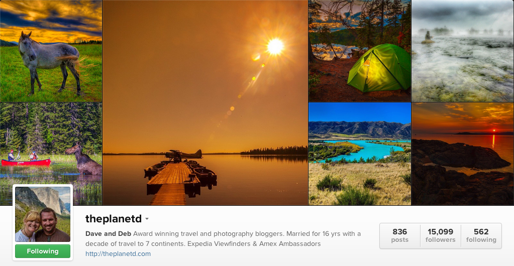 The Planet D on Instagram - Travel Photographers on Instagram